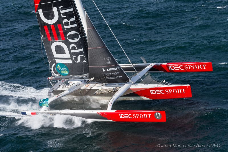 Route du Rhum - A first place for Françis Joyon
